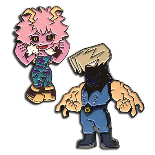 My Hero Academia Pinky and Tentacle Pins 2-Pack