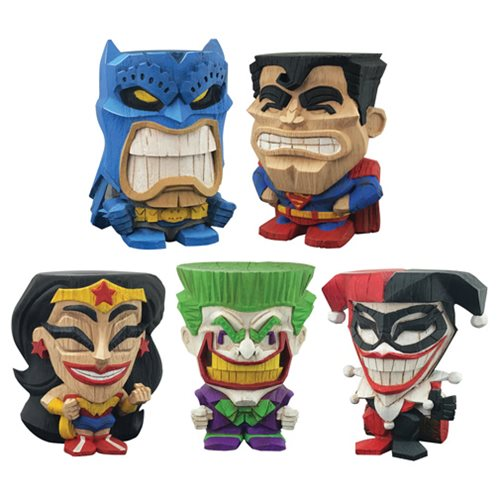 DC Teekeez Vinyl Figure Series 1 Display Box