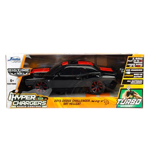 Hyper Chargers Big Time Muscle 2015 Dodge Challenger SRT 1:16 Scale RC Vehicle