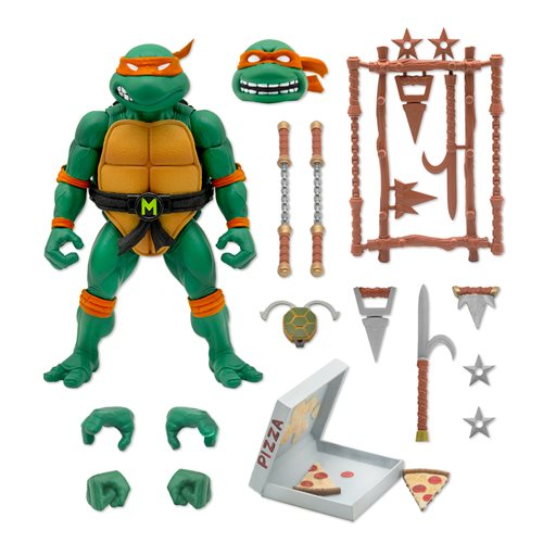 TMNT Ultimates Michelangelo 7-Inch Action Figure