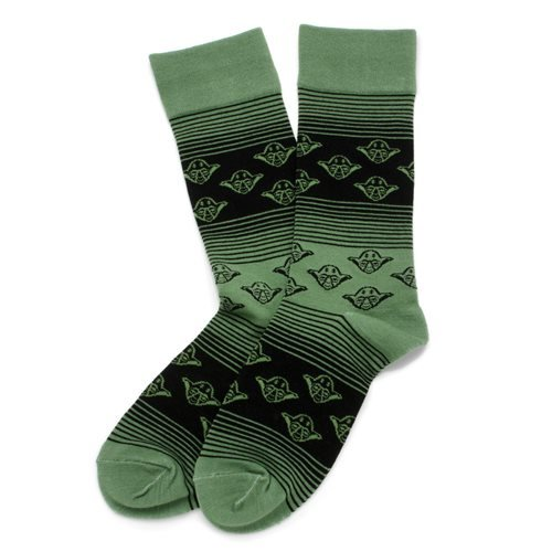 Star Wars Yoda Ombre Stripe Socks