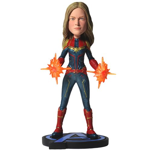 Avengers: Endgame Captain Marvel Head Knocker Bobble Head