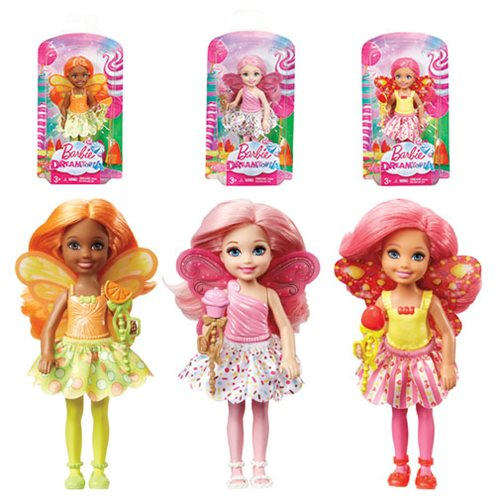Barbie: Dreamtopia Chelsea Fairy Dolls Case