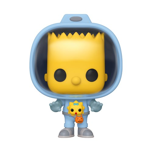 The Simpsons Bart with Chestburster Maggie Pop! Vinyl Figure