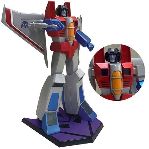 Transformers Classic Starscream 9-Inch Statue