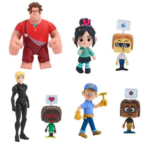 Ralph Breaks the Internet Action Figure Wave 1 Case