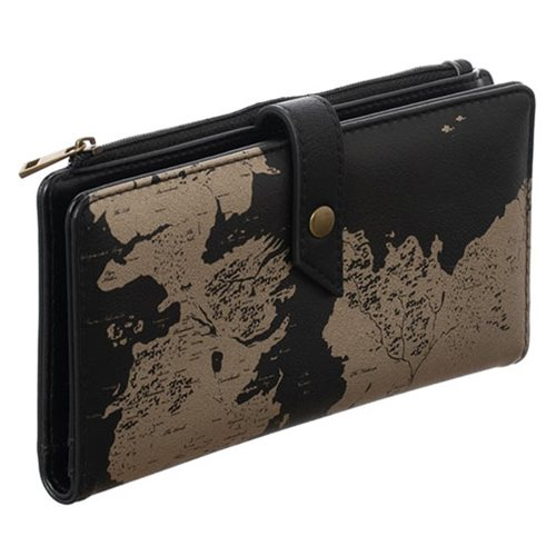Game of Thrones Westoros World Map Slim Wallet