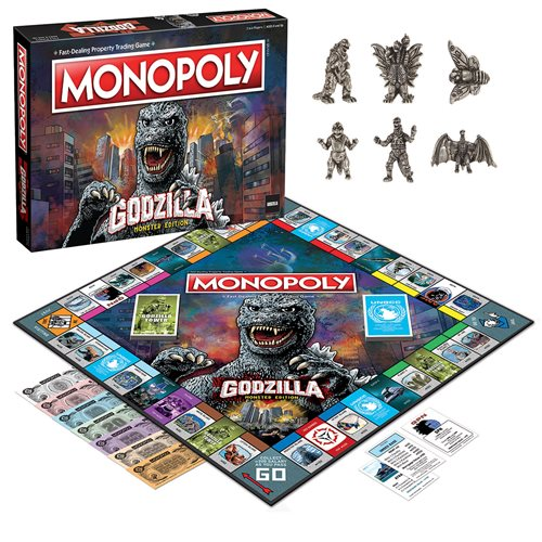 Godzilla Monopoly Game
