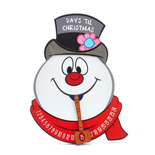 Frosty the Snowman Christmas Countdown 11-Inch Advent Calendar