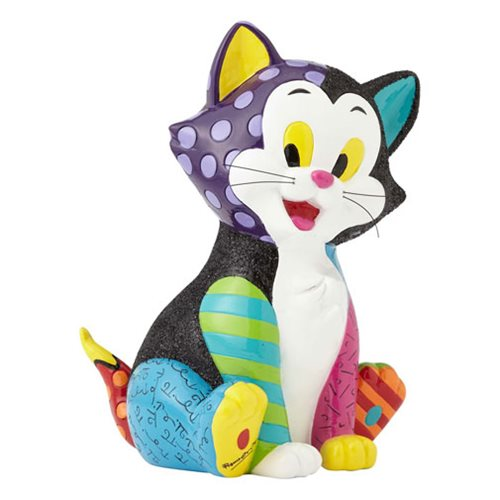 Disney Pinocchio Figaro the Cat Statue by Romero Britto
