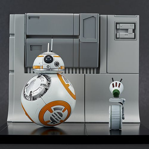 Star Wars: The Rise of Skywalker BB-8 and D-0 1:12 Scale Model Kit