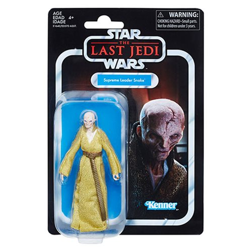 Star Wars The Vintage Collection Supreme Leader Snoke 3 3/4-Inch Action Figure