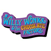 Willy Wonka and the Chocolate Factory Logo Funky Chunky Magnet