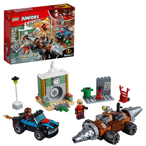 LEGO Juniors Incredibles 2 10760 Underminer Bank Heist