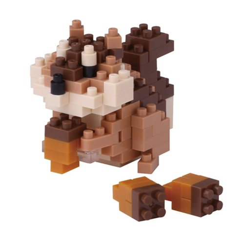 Squirrel Nanoblock Constructible Figure