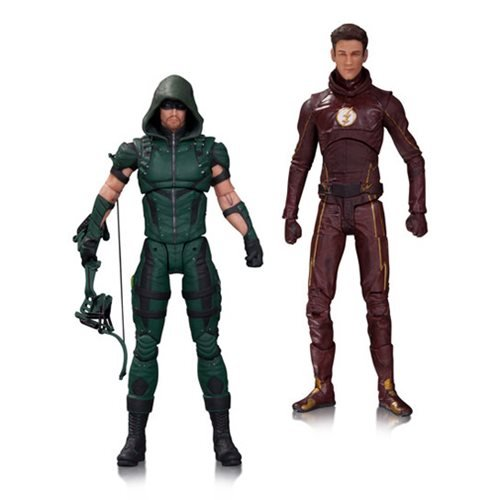 The Flash and Arrow TV Action Figure 2-Pack