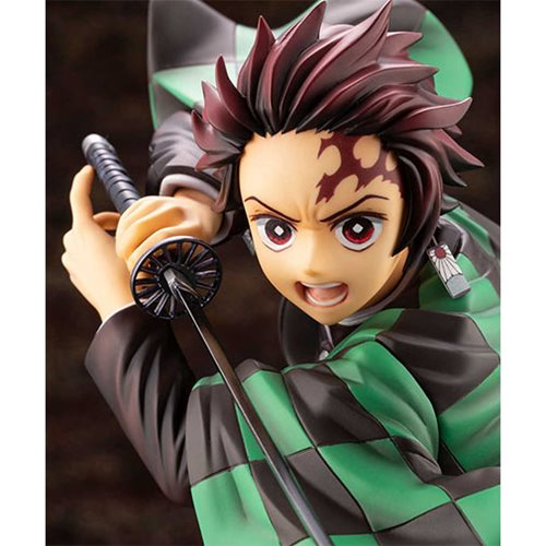 Demon Slayer Tanjiro Kamado ArtFX J Statue