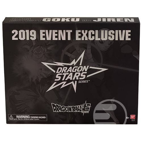 Dragon Ball Stars Ultra Instinct Goku vs. Jiren Action Figure 2-Pack - Entertainment Earth Exclusive