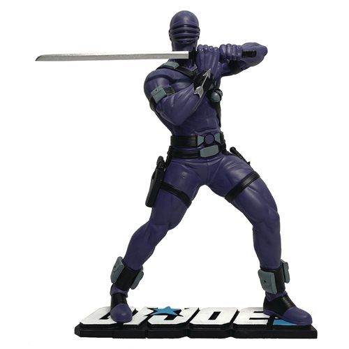 G.I. Joe Snake Eyes 1:8 Scale Statue