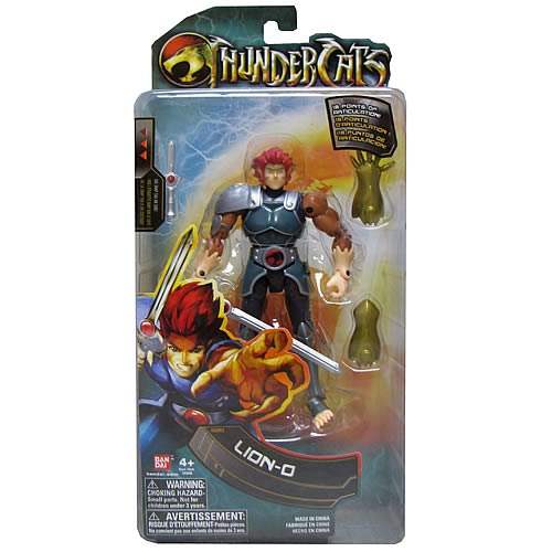 ThunderCats 6-Inch Lion-O Collector Action Figure