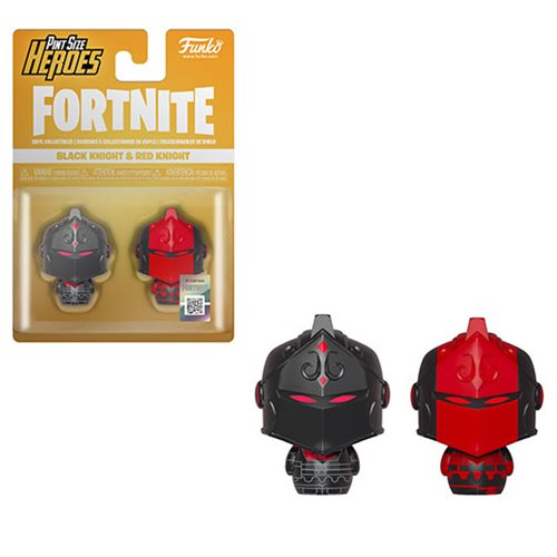 Fortnite Black Knight And Red Knight Pint Size Heroes Mini Figure 2