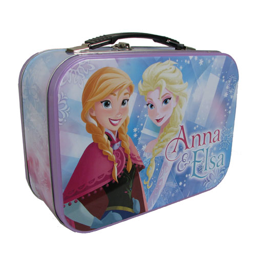 Disney Frozen Anna and Elsa Tin Tote