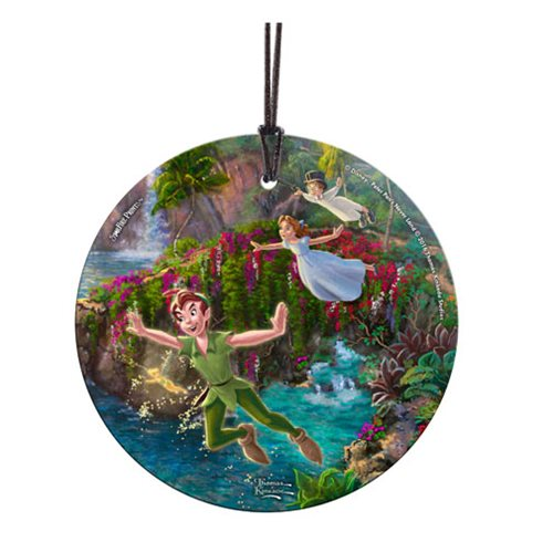 Peter Pan Peter, Wendy, and John StarFire Prints Hanging Glass Ornament