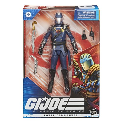 G.I. Joe Classified Series 6-Inch Cobra Commander Action Figure