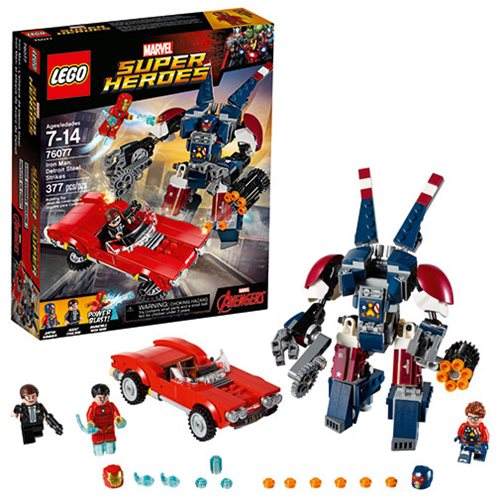 LEGO Avengers 76077 Iron Man Detroit Steel Strikes