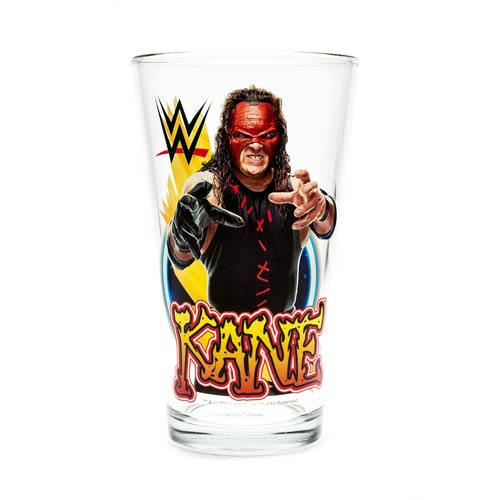 WWE Kane 16 oz. Pint Glass