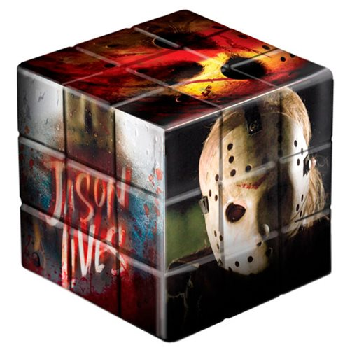 Friday the 13th Jason Voorhees Puzzle Blox
