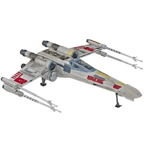 Star Wars The Vintage Collection The Rise of Skywalker Luke Skywalker Red 5 X-Wing 3 3/4-Inch Vehicl