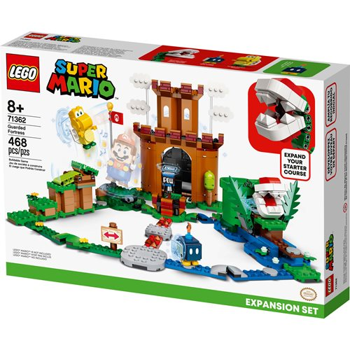 LEGO 71362 Super Mario Guarded Fortress Expansion Set