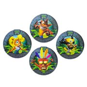 Crash Bandicoot 3D Coasters 4-Pack