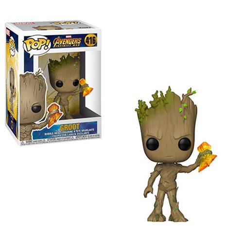 Avengers: Infinity War Groot with Stormbreaker Pop! Vinyl Figure #416