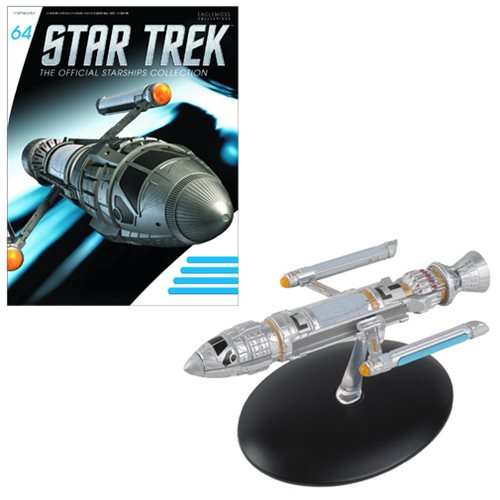 Star Trek Starships Phoenix Die-Cast Vehicle with Collector Magazine