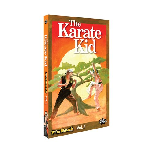 Karate Kid Pin Book Set Volume 2