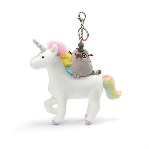 Pusheen the Cat Pusheen Fancy Unicorn 8 1/2-Inch Plush Key Chain