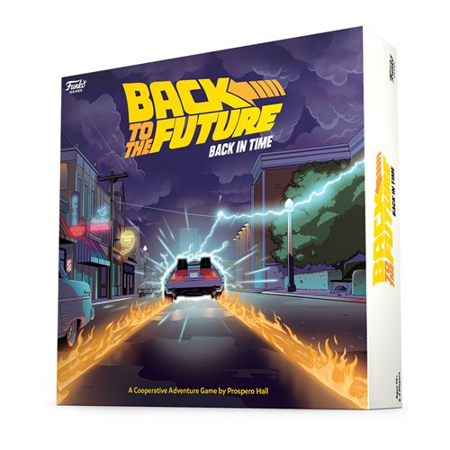 Back to the Future: Back in Time Game