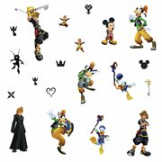 Kingdom Hearts Peel and Stick Wall Decals