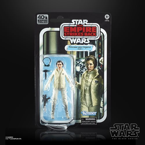 Star Wars The Black Series Empire Strikes Back 40th Anniversary 6-Inch Princess Leia Hoth Action Fig