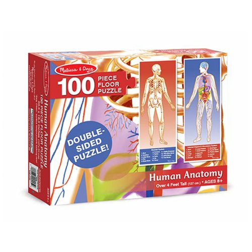 Human Body Floor 100-Piece Puzzle