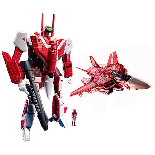 Robotech Miriya Sterling's 1:100 Scale VF-1J Transformable Veritech Fighter Collection Action Figure