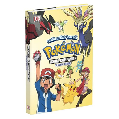 Pokemon Visual Companion 2nd Edition Hardcover Book
