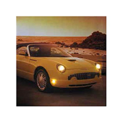 Ford 2000s Thunderbird Light-Up Canvas Print