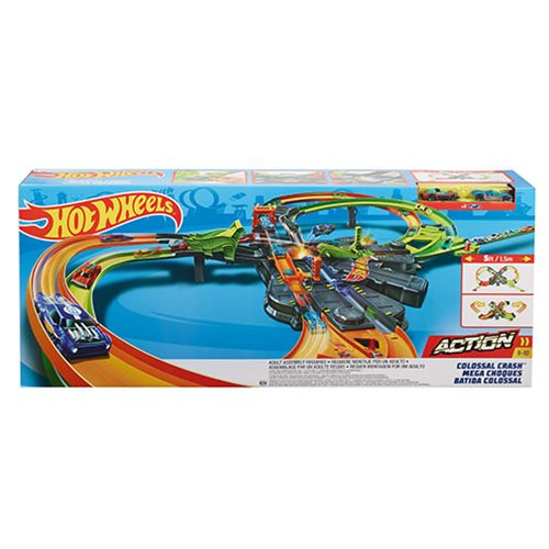 Hot Wheels Action Colossal Crash Track Set