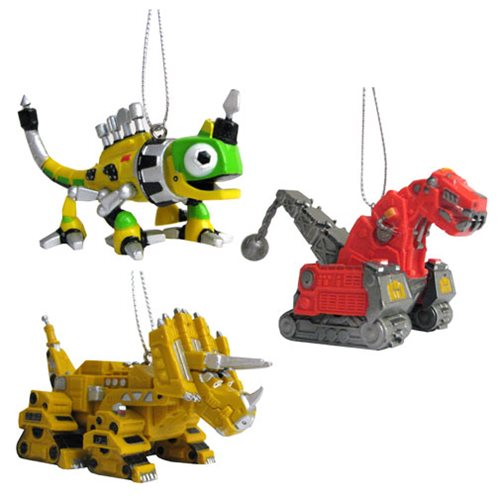 Dinotrux 2 1/2-Inch Ornament Set