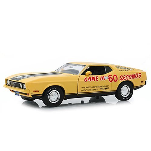 "Gone in Sixty Seconds (1974) - 1973 Ford Mustang Mach 1 ""Eleanor"" (Post-Filming Tribute Edition) 1:18 Scale Vehicle"