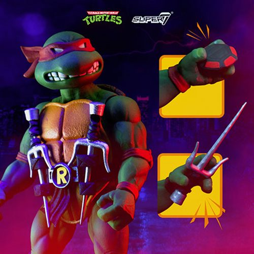 Teenage Mutant Ninja Turtles Ultimates Raphael 7-Inch Action Figure