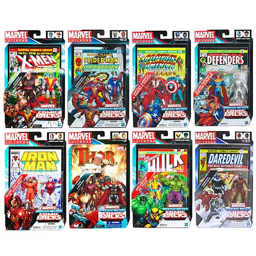 Marvel Universe Figures Comic Packs Battles Wave 2 Rev. 1